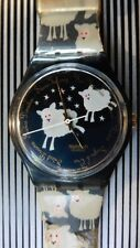 MONTRE SWATCH VINTAGE 1994 MODELE BLACK SHEEP COLLECTOR  B.ETAT DANS SA BOITE
