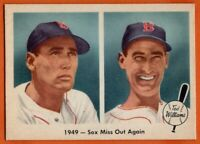 1959 Fleer #37 Ted Williams EX-EXMINT+  HOF Boston Red Sox FREE SHIPPING