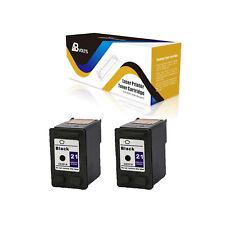 ABvolts C9351A Black Compatible Ink Cartridge 2PK for HP 21 Deskjet 3930 series