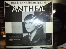 GEORGE ANTHEIL music for violin and piano LP, shrink, NM/NM, MAN RAY cover photo