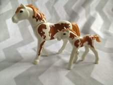 Playmobil spares mare and foal (will combine postage where i can )