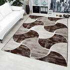 Moderno Designer Tappeto basso pelo SAMBA Carpet 1708 Marrone