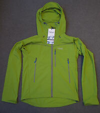 RAB Sawtooth softshell jacket hooded mountaineering Mens M Green new with tags