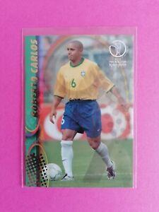 2002 Panini World Cup Korea Japan Roberto Carlos Brazil No. 32