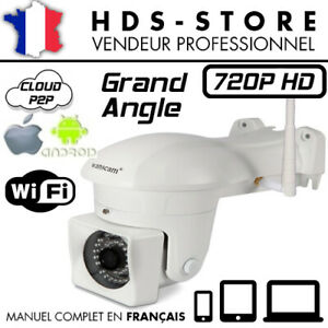 HW0023 WANSCAM CAMERA IP EXTÉRIEURE WIFI HD 720P ÉTANCHE 1280x720 E-VIEW7 IOS IR