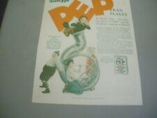 OUR GANG MAGAZINE AD 1928 KELLOGG'S PEP
