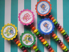 24 Team Umizoomi 1x8 candy bags party favors, goodie bag fillers, candy buffet