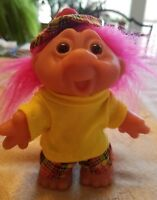 "GOLF DAM Troll GOLFER GOLFING PGA Norfin Troll Doll NEW 5"" GOLF"