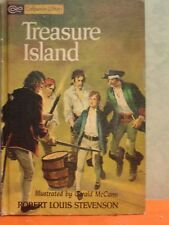Treasure Island & Gulliver's Travels, Companion Library 2 Sided Book 1963 HB004