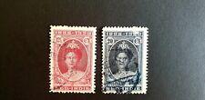 NED.INDIE- Wilhemina Jubilee 1923 - 12,5 & 20 Ct