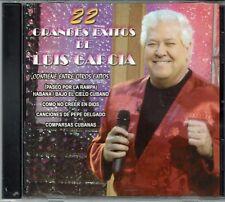 Luis Garcia 22 Grandes Exitos de Luis Garcia   BRAND  NEW SEALED  CD