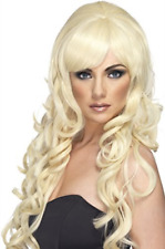 Pop Starlet Wig, Blonde, Long and Curly (US IMPORT) COST-ACC NEW
