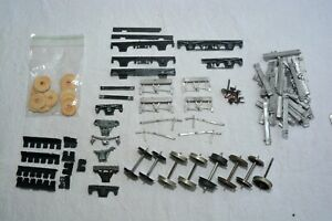 7mm SCALE, O GAUGE, COACH AND WAGON BUILDING SPARES, AXLEBOX, BRAKE HANGERS. .