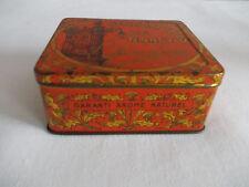 Boîte bergamottes de Nancy Lefèvre Georges orange motifs dorés