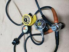 Aqualung Conshelf Xiv & Us Divers Octo Scuba Regulators, used (good condition)