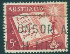 [JSC]1960 Australia Christmas old stamp 5d