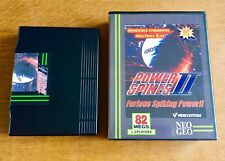 Jeu console SNK NEO GEO AES US euro : POWER SPIKES II Volley - no MVS NGF Freaks