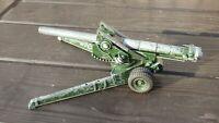 Vintage Britains 2064 WW2 155mm Long Tom Field Gun Artillery Military Army Toy