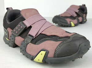 Giro Urge Cycling Shoes Pink Suede Women's 7.5 EUR 38 Hook/Loop Trail Mountain