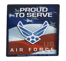 U.S. Usaf Air Force Proud To Serve Military Mini Magnet (Car / Fridge / Other)