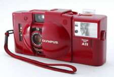 【EXC+++++】 Olympus XA2 RED 35mm Point &Shoot Film Camera with A11 flash Japan114