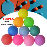 150Pcs/Pack Colored Ping Pong Ball Entertainment Table Tennis Balls Mix Color