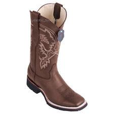 "Men's Los Altos Genuine Leather Western Boots Eva Light Rubber Outsole 11"" Shaft"