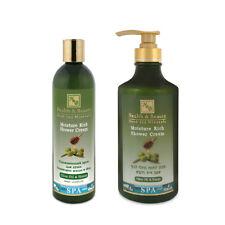 Moisture rich Shower cream Olive oil& Honey Wash Bath Gel H&B Dead Sea Cosmetics