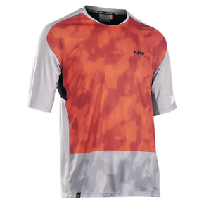 NORTHWAVE Maillot M/C Edge GRAY-ORG NW218920130292 Men's Clothing Jerseys