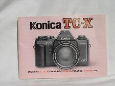 manuals and guides for konica minolta camera ebay rh ebay com my Konica Film Camera Minolta X 700 Konica Film Camera Minolta X 700
