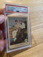 Ted Williams PSA 2 Boston Red Sox 1959 Fleer #67 Two Famous Fishermen Sammy NR