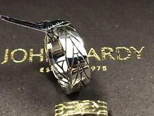 Modern 6mm Band Ring Size 6 New John Hardy Women's Silver 925