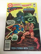DC Comics Presents 47, Superman and the MOTU, 1st HE-MAN & SKELETOR