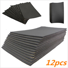 12 Sheets Car Sound Proofing Deadening Noise Reduction & thermal insulation Foam (Fits: More than one vehicle)
