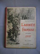 L'armée française - Annuaire de Beauvoir 1901 - Emplacement des troupes -