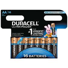 kQ Duracell AA Ultra Power Batterien Alkaline Mignon MX1500 LR6 16er Blister