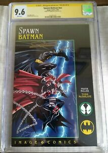 Spawn Batman 1994 DC IMAGE Crossover CGC SS 9.6 Frank Miller