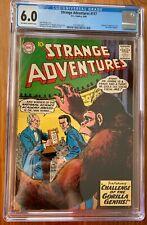STRANGE ADVENTURES #117 CGC 6.0 -- 1ST & ORIGIN OF THE ATOMIC NIGHTS! BROOME