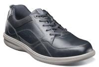 Nunn Bush Kore Walk Moc Toe Oxford Shoes Navy 84811-410