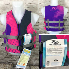 NWT Stearns Hydroprene Type III PFD Adult Ski Life Vest Adult Size Large/X-Large