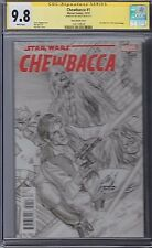 STAR WARS CHEWBACCA #1 CGC 9.8 Ross 1:200 Variant Cover Marvel SS