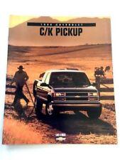 1998 Chevrolet Truck Silverado 40-page Sales Brochure Book - C/K C1500 K2500