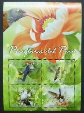 Peru 2013 Kolibris Hummingbirds Vögel Oiseaux Uccelli Block Postfrisch MNH