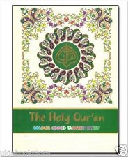 The Holy Quran Colore Identificativo Tajweed Rules Large Bold Lettere 13 Binari