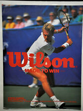 STEFAN EDBERG Wilson Tennis Poster Vintage (135)