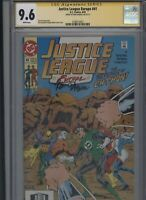 Justice League Europe #41 CGC 9.6 SS Ron Randall 1992
