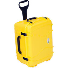Seahorse SE1220 Wheeled Watertight Hard Case - Die Cut Foam (Yellow)