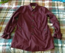 mens Asos short mac trench coat medium bnwt