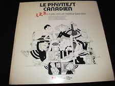 "LE PHYSITEST CANADIEN<>12"" LP Vinyl~Canada Press ° PRIVATE LABEL"