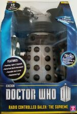 "Doctor Who 13"" Radio Controlled Dalek The Supreme White BNIB"